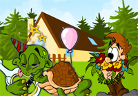 Schildkroete_Party_Haus